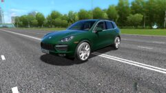 Porsche Cayenne Turbo (1.5.9) - City Car Driving мод