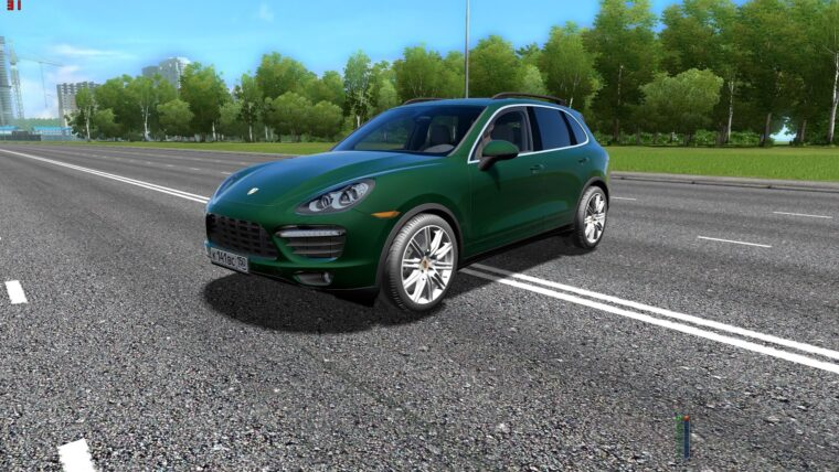 Porsche Cayenne Turbo (1.5.9) - City Car Driving мод