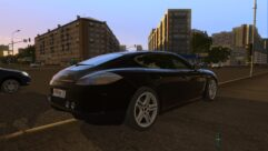 Porsche Panamera Turbo 2010 (1.5.9) - City Car Driving мод