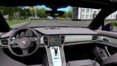 Porsche Panamera Turbo 2010 (1.5.9) - City Car Driving мод (изображение 2)