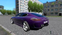Porsche Panamera Turbo 2010 (1.5.9) - City Car Driving мод (изображение 3)