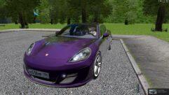 Porsche Panamera Turbo 2010 (1.5.9) - City Car Driving мод (изображение 4)