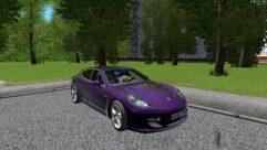 Porsche Panamera Turbo 2010 (1.5.9) - City Car Driving мод (изображение 5)