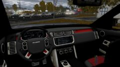 Range Rover Startech 2014 (1.5.9) - City Car Driving мод (изображение 4)