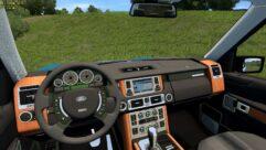 Range Rover 2008 (1.5.9) - City Car Driving мод (изображение 5)