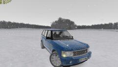 Range Rover 2008 (1.5.9) - City Car Driving мод (изображение 8)