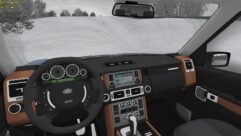 Range Rover 2008 (1.5.9) - City Car Driving мод (изображение 9)