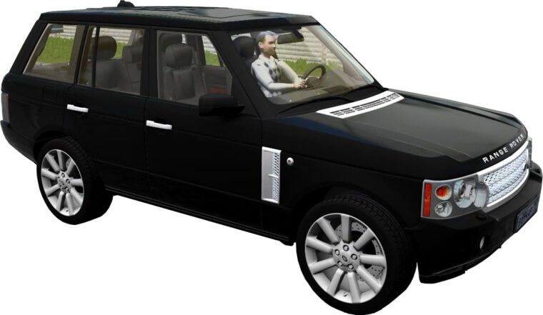 Range Rover Vogue Supercharged 2008 (1.5.9) - City Car Driving мод