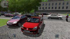 Renault Clio Symbol (1.5.9) - City Car Driving мод (изображение 2)