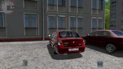 Renault Clio Symbol (1.5.9) - City Car Driving мод (изображение 3)