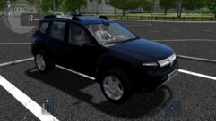 Renault Duster 2010 (1.5.9) - City Car Driving мод (изображение 3)
