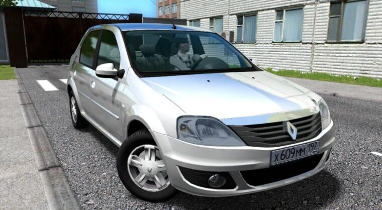 Renault Logan (1.5.9) - City Car Driving мод