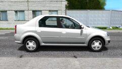 Renault Logan (1.5.9) - City Car Driving мод (изображение 2)