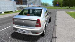 Renault Logan (1.5.9) - City Car Driving мод (изображение 3)