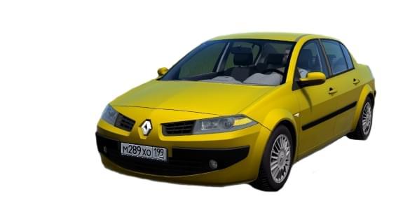 Renault Megane (устаревшая версия) (1.5.9) - City Car Driving мод