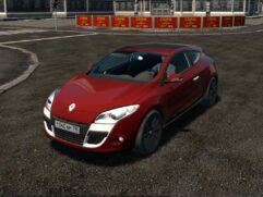 Renault Megane Coupe 2.0 dCi (1.5.9) - City Car Driving мод