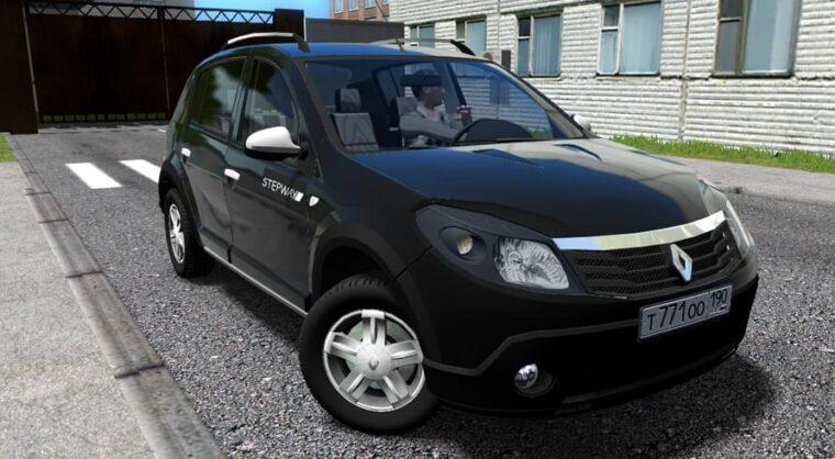 Renault Sandero Stepway (1.5.9) - City Car Driving мод