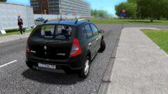 Renault Sandero Stepway (1.5.9) - City Car Driving мод (изображение 3)