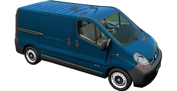 Renault Trafic Cargo (1.5.9) - City Car Driving мод