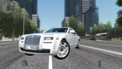 Rolls-Royce Ghost (1.5.9) - City Car Driving мод (изображение 4)