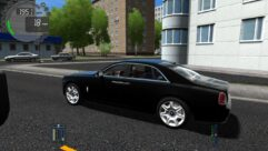 Rolls-Royce Ghost (1.5.9) - City Car Driving мод (изображение 5)