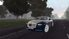 Rolls-Royce Wraith (1.5.9) - City Car Driving мод (изображение 2)