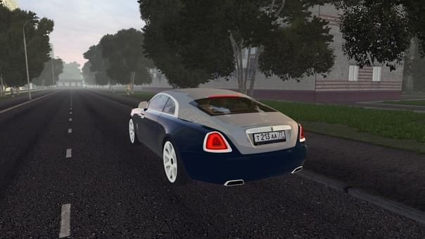Rolls-Royce Wraith (1.5.9) - City Car Driving мод (изображение 3)