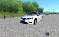 Saab 9-3 (1.5.9) - City Car Driving мод (изображение 2)