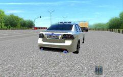 Saab 9-3 (1.5.9) - City Car Driving мод (изображение 3)