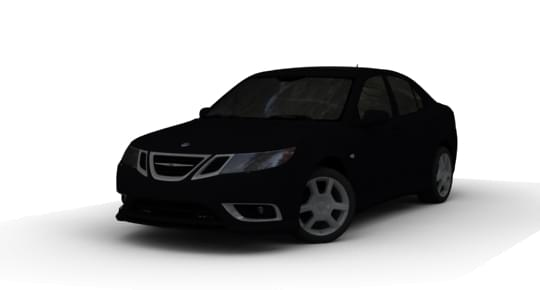 Saab 9-3s (1.5.9) - City Car Driving мод