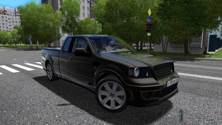 Saleen S331 Supercab (1.5.9) - City Car Driving мод