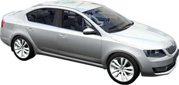 Skoda Octavia III (A7) 1.8 TSI MT Elegance (1.5.9) - City Car Driving мод