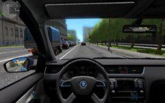 Skoda Octavia III (A7) 1.8 TSI MT Elegance (1.5.9) - City Car Driving мод (изображение 3)