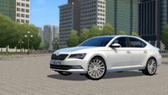 Skoda Superb B8 (1.5.9) - City Car Driving мод (изображение 2)
