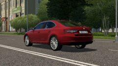 Skoda Superb B8 (1.5.9) - City Car Driving мод (изображение 4)