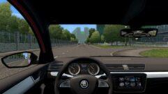 Skoda Superb B8 (1.5.9) - City Car Driving мод (изображение 5)
