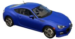 Subaru BRZ (1.5.9) - City Car Driving мод