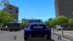 Subaru BRZ (1.5.9) - City Car Driving мод (изображение 4)