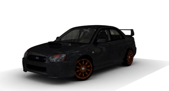 Subaru Impreza WRX STI (1.5.9) - City Car Driving мод