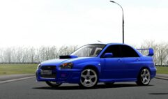 Subaru Impreza WRX STI (1.5.9) - City Car Driving мод (изображение 2)