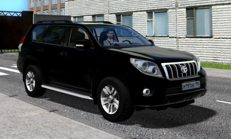 Toyota Land Cruiser Prado (1.5.9) - City Car Driving мод
