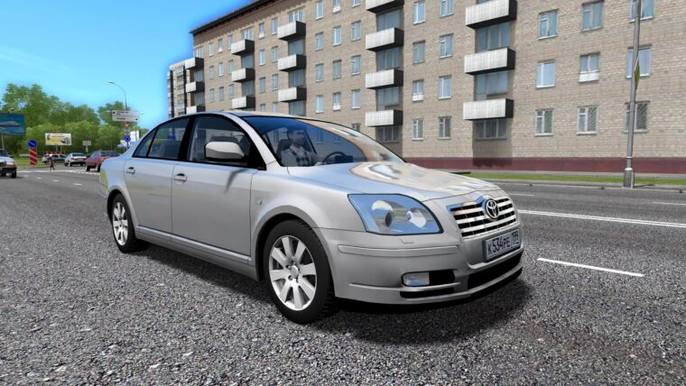 Toyota Avensis (1.5.9) - City Car Driving мод