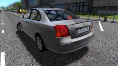Toyota Avensis (1.5.9) - City Car Driving мод (изображение 3)