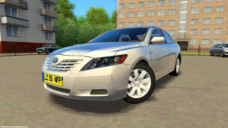 Toyota Camry 2008 v44 (1.5.9) - City Car Driving мод