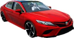Toyota Camry 2018 (1.5.9) - City Car Driving мод