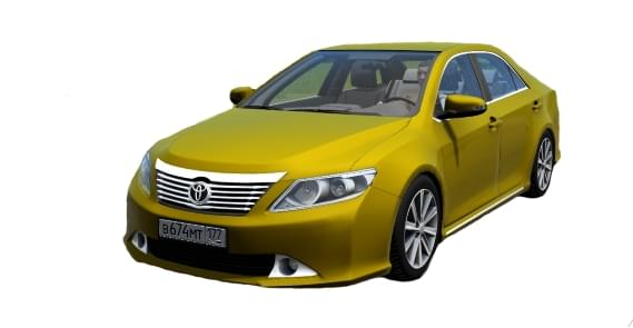 Toyota Camry v50 (1.5.9) - City Car Driving мод