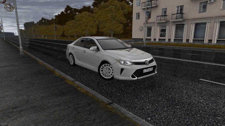 Toyota Camry v55 (устаревшая версия) (1.5.9) - City Car Driving мод
