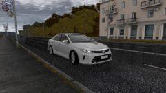 Toyota Camry v55 (устаревшая версия) (1.5.9) - City Car Driving мод (изображение 3)