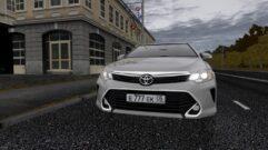 Toyota Camry v55 (устаревшая версия) (1.5.9) - City Car Driving мод (изображение 4)