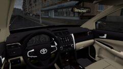 Toyota Camry v55 (устаревшая версия) (1.5.9) - City Car Driving мод (изображение 6)